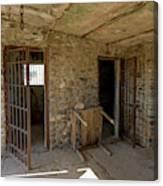 The Stone Jailhouse Interior Canvas Print