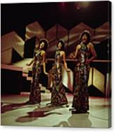 The Supremes Perfom On Tv Show Canvas Print