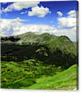 The Top Of Independence Pass Canvas Print
