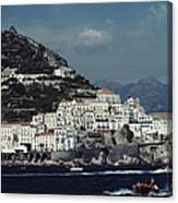 The Town Of Amalfi Canvas Print