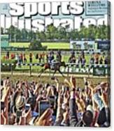 The Triple Crown All American Pharoah Sports Illustrated Cover Canvas Print