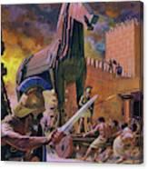 The Trojan Horse Canvas Print
