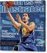 The Unlikely Turnaround Klay Thompsons Warriors Sports Illustrated Cover Canvas Print
