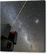 The Vlts Laser Guide Star Canvas Print