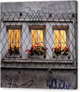 The Windows Of Sofia Canvas Print