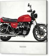 The Yamaha Xs1100 Canvas Print