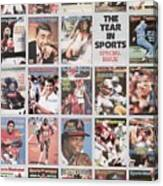 The Year In Sports Issue... Sports Illustrated Cover Canvas Print