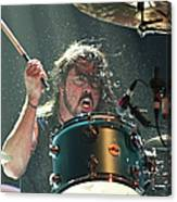 Them Crooked Vultures Perform At Canvas Print