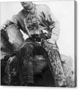 Theodore Roosevelt In Cowpoke Outfit Canvas Print