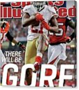 There Will Be Gore Super Bowl Xlvii Preview Issue Sports Illustrated Cover Canvas Print