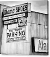 These Shoes Alamo Shoes Canvas Print