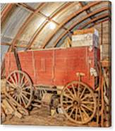 This Old Shed Held A Surprise Canvas Print