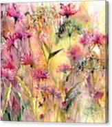 Thistles Impression Canvas Print