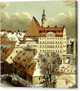 Thomasschule In Leipzig Canvas Print