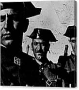 Three Members Of Dictator Francos Feare Canvas Print