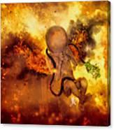 Through Ashes Rise II Canvas Print