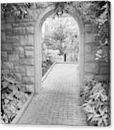 Through The Garden Gate Canvas Print