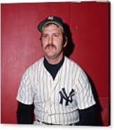 Thurman Munson Canvas Print