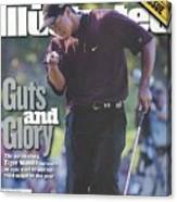 Tiger Woods, 2000 Pga Championship Sports Illustrated Cover Canvas Print