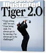 Tiger Woods, 2007 Buick Invitational Practice Round Sports Illustrated Cover Canvas Print