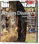Tiger Woods, 2007 Masters Sports Illustrated Cover Canvas Print