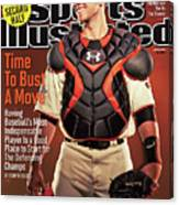 Time To Bust A Move Baseball 2013 repreview Sports Illustrated Cover Canvas Print