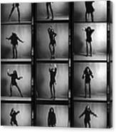 Tina Turner Contact Sheet Canvas Print