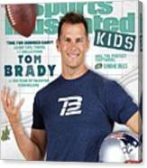 Tom Brady Sports Illustrated Cover Canvas Print