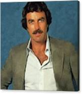 Tom Selleck, Actor Canvas Print
