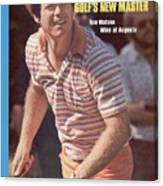 Tom Watson, 1977 Masters Sports Illustrated Cover Canvas Print