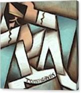 Tommervik Man Wearing Elvis Costume Art Print Canvas Print