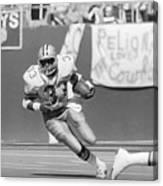 Tony Dorsett Running With Football Canvas Print