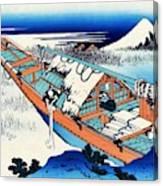 Top Quality Art - Mt,fuji36view-joshu Ushibori Canvas Print