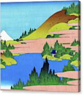 Top Quality Art - Mt,fuji36view-soshu Hakone Kosui Canvas Print