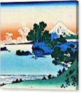 Top Quality Art - Mt,fuji36view-soshu Shichirigahama Canvas Print