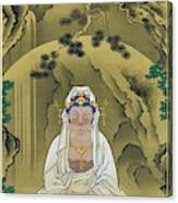 Top Quality Art - White Robed Kannon Canvas Print