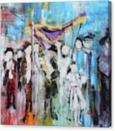 Torah Dedication Alexandria 2 201905 Canvas Print
