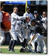 Toronto Blue Jays V New York Yankees Canvas Print