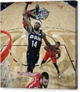 Toronto Raptors V New Orleans Pelicans Canvas Print