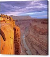 Toroweap Overlook Cliff Canvas Print