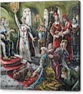 Torquemada, 1492 Canvas Print
