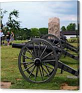 Touring The Gettysburg Battlefield Canvas Print