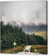 Towards The Fairy Pools Canvas Print