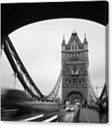 Tower Bridge In London In United Canvas Print