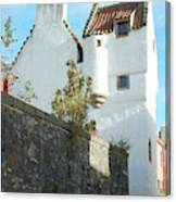 towerhouse and turret at Culross Canvas Print