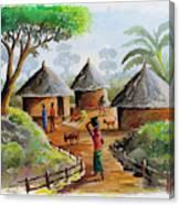 Traditional Village Canvas Print