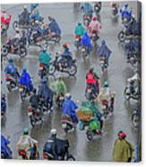 Traffic In Ho Chi Minh City Canvas Print