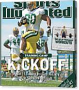 Training Camp Kickoff What It Takes To Get Ready For Some Sports Illustrated Cover Canvas Print
