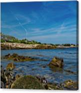 Tranquil Blues Day Kennebunkport Canvas Print