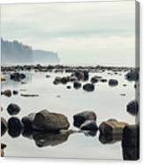 Tranquil Sea Water Surface Landscape Canvas Print